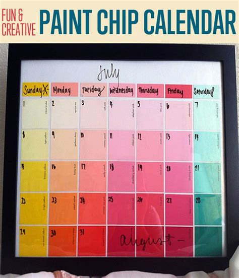 calendar craft for five nihilist projects you can start right now