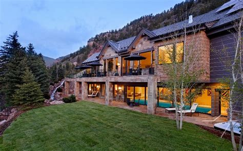 luxury homes in aspen colorado luxury estate in aspen co