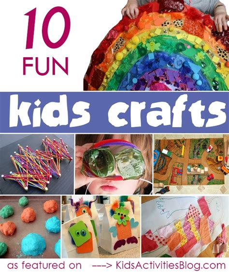 craft kid ideas 10 craft ideas and activities for your child ece