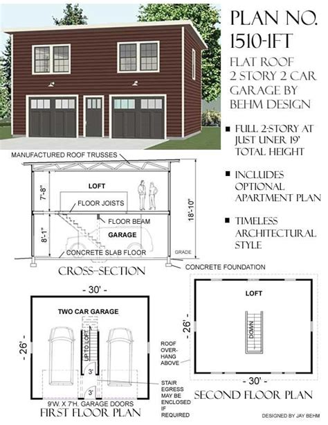 two story garage plans with apartments 17 best images about home plans on house plans