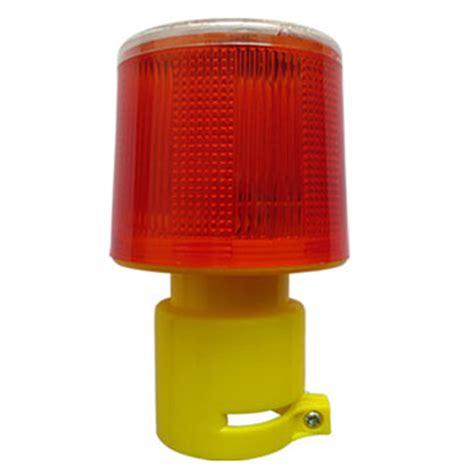 solar strobe light solar powered traffic light safety signal beacon alarm