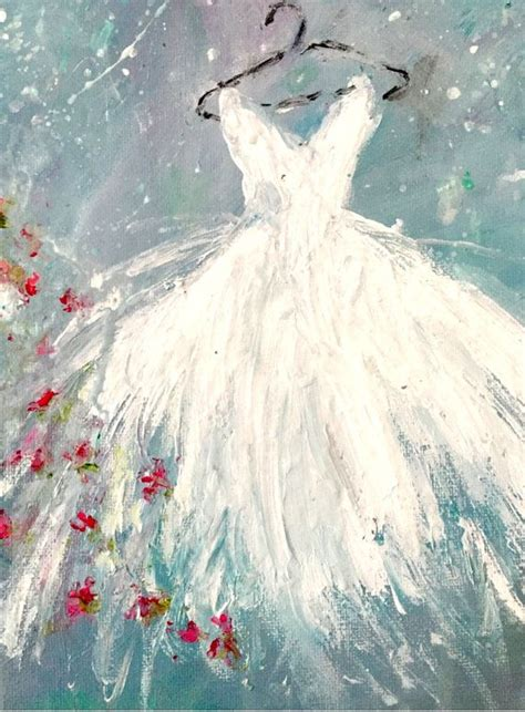 acrylic painting dress 25 best ideas about dress painting on