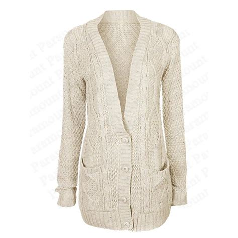 womens cable knit cardigan cable knit womens button boyfriend winter cardigan
