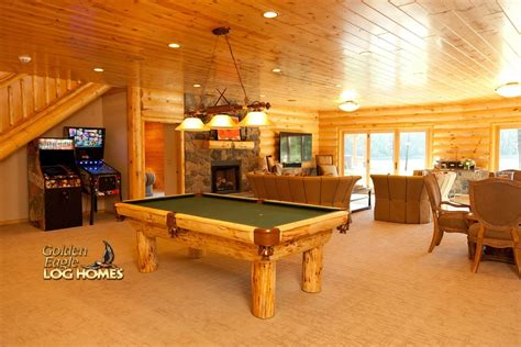 log home plans with basement golden eagle log and timber homes log home cabin