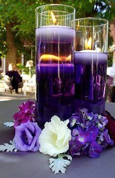 purple water centerpieces 1000 ideas about purple wedding centerpieces on