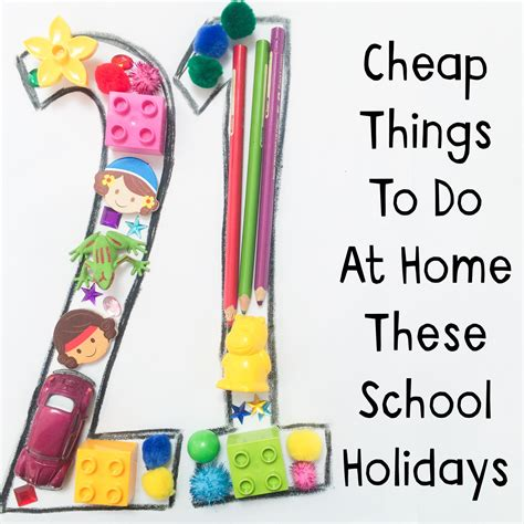 21 Cheap Things To Do At Home These School Holidays Oh