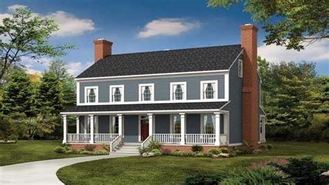 2 story farmhouse plans 2 story colonial front makeover 2 story colonial style house plans colonial farmhouse plans
