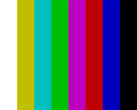 pal the image pal color bars