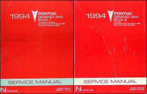 how to download repair manuals 1994 pontiac grand prix head up display 1994 pontiac grand am repair shop manual original set