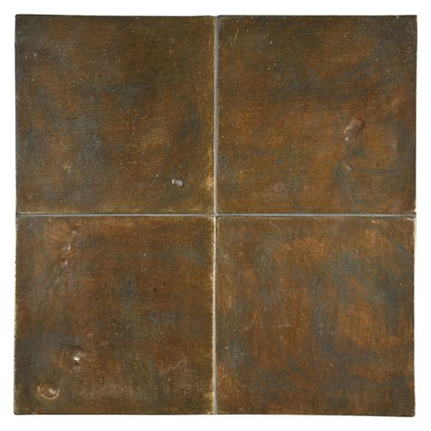 Glass Backsplashes For Kitchens Pictures alumenia series brown green patina 6 quot x 6 quot tile