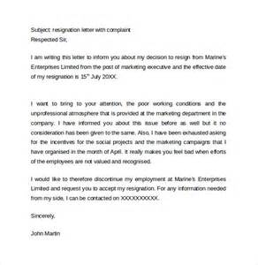 Free Cover Letter Samples resignation letter format 14 download free documents