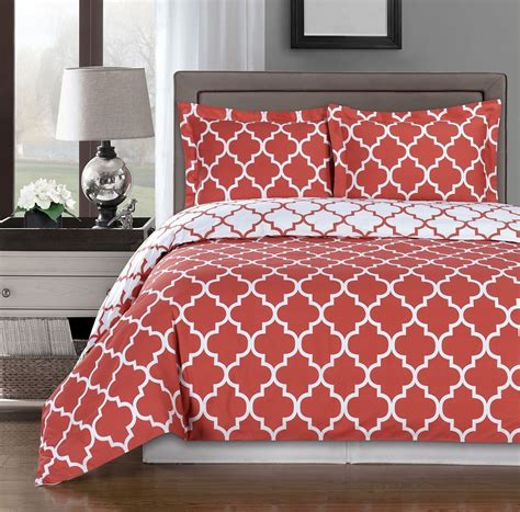 coral color comforter sets coral duvet cover set ease bedding with style
