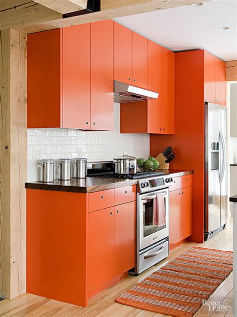 orange kitchen cabinet orange oak kitchen cabinets quicua