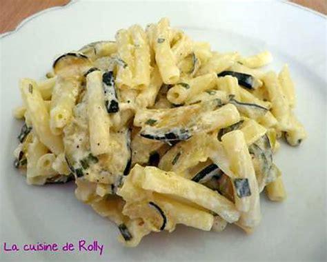 recette de p 226 tes aux courgettes sauce 224 l ail et citron