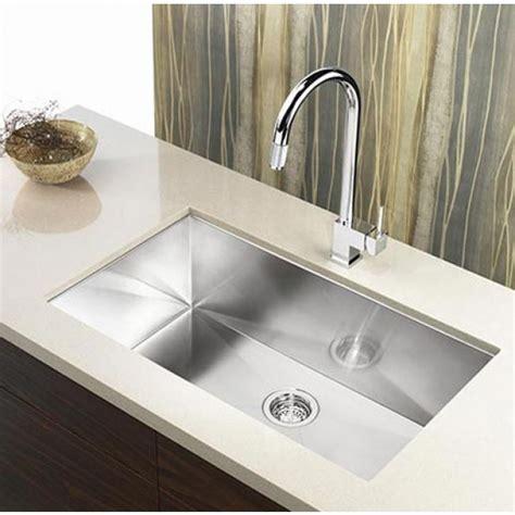 kitchen sink picture 36 inch stainless steel undermount single bowl kitchen