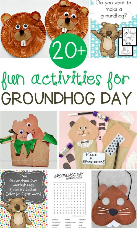 groundhog day supplies 17 best ideas about groundhog day on groundhog