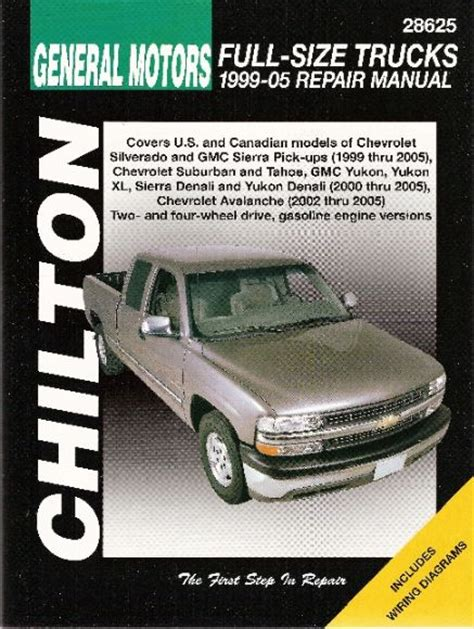 chilton car manuals free download 2005 chevrolet tahoe instrument cluster 1999 2006 chevy gmc avalanche silverado sierra suburban tahoe chilton manual