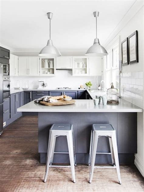 grey blue kitchen cabinets a moment blue gray kitchen cabinets mydomaine