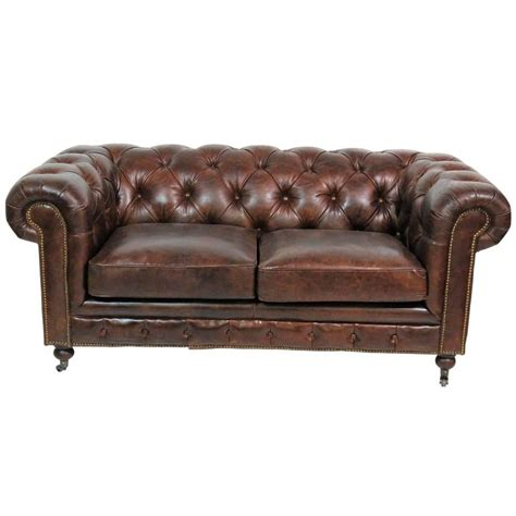 chesterfield tufted leather sofa georgian style brown leather tufted chesterfield sofa for