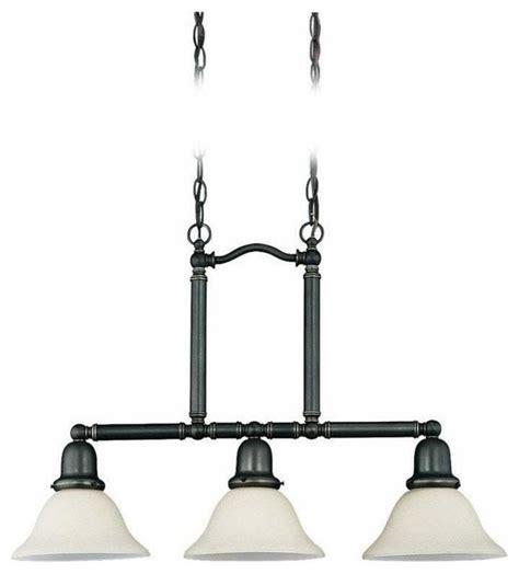 3 light pendant island kitchen lighting 3 light island pendant heirloom bronze traditional