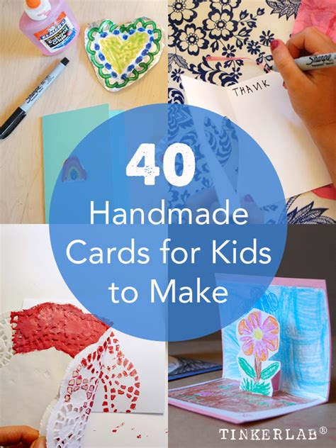 ideas for cards for children to make cards for to make