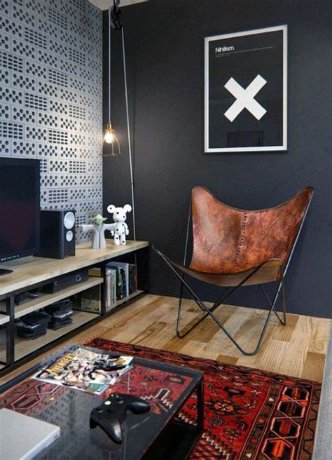 mens home decor 100 bachelor pad living room ideas for masculine designs