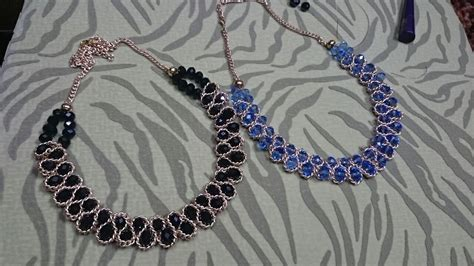 how to make a beaded chain necklace how to diy beaded chain necklace how to diy beaded chain