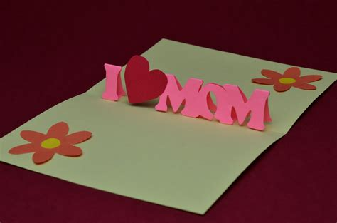 pop up cards for to make free s day pop up card template and tutorial