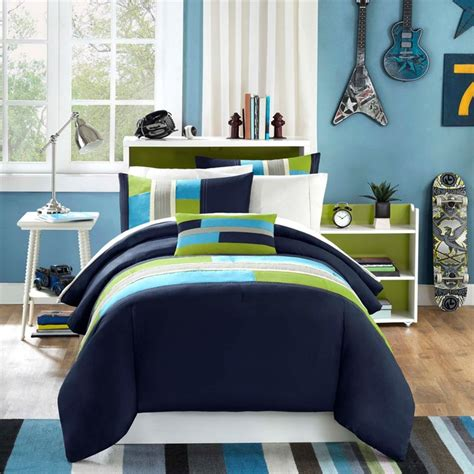 boys bed set mizone pipeline 4 boy comforter set boy