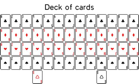 how to make a deck of cards deck of cards by seloh on deviantart