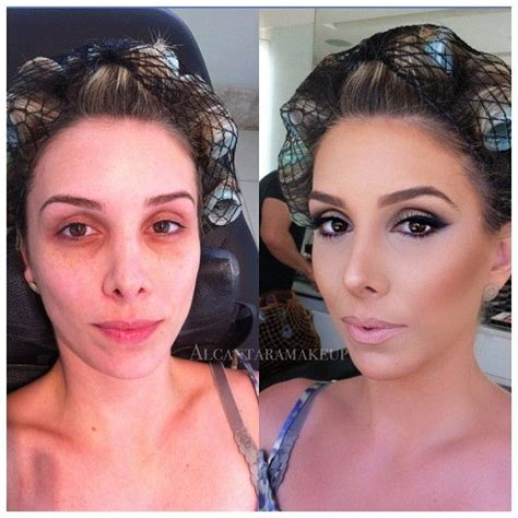 before and after ideas of before and after makeup transformation fashion
