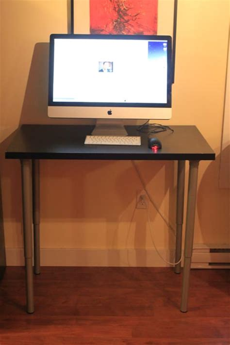 ikea stand up desk the 100 dollar stand up ikea desk luke
