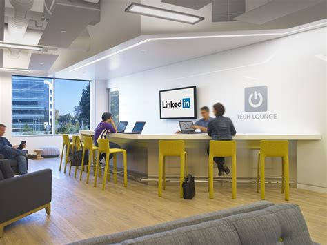 Kitchen Design With Bar take a look at linkedin s new sunnyvale office officelovin