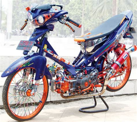 Modifikasi Motor Jupiter Z by Modifikasi Yamaha Jupiter Z Burhan Burung Hantu Terbaru