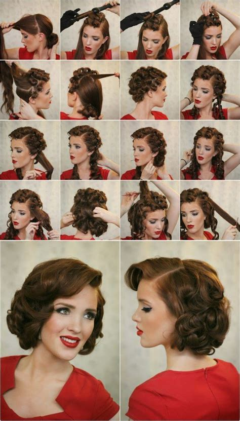 how to do easy 1920s hairstyles for mid hair with fringe 14 glamorous retro hairstyle tutorials pretty designs