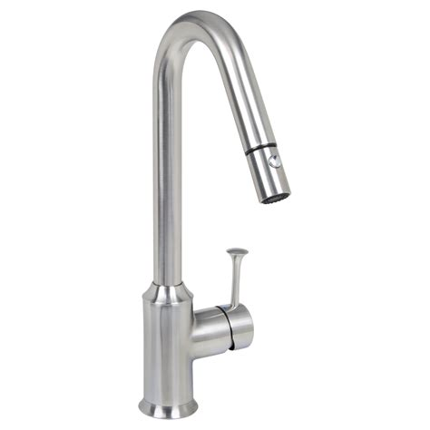 pekoe 1 handle pull high flow kitchen faucet