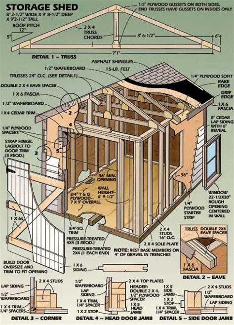 shed building plans shed building plans 8 215 12 diy building a shed the ways