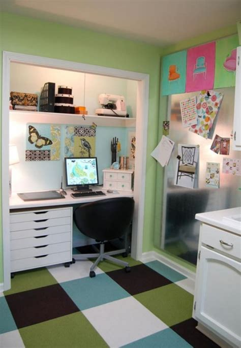 desk in closet 15 closets turned into space saving office nooks