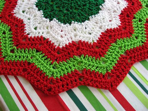 crochet tree skirts tree skirt crochet pattern free