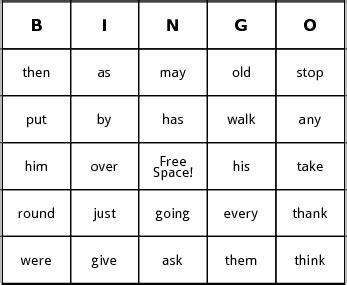 make bingo cards with words sight word bingo by bingo card template
