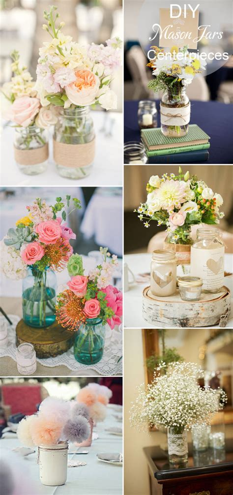 diy wedding centerpieces with jars 40 diy wedding centerpieces ideas for your reception
