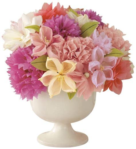 martha stewart crafts paper flowers paper flower centerpiece ideas mid south