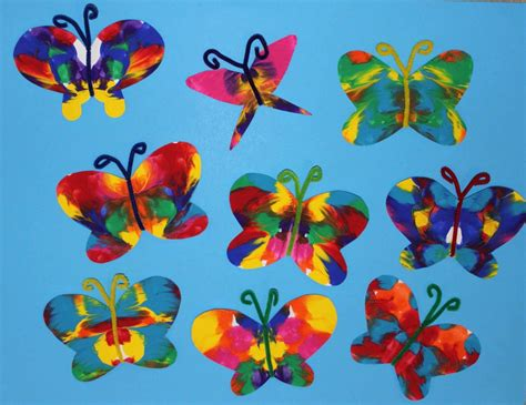 butterfly craft ideas for the sea crafts