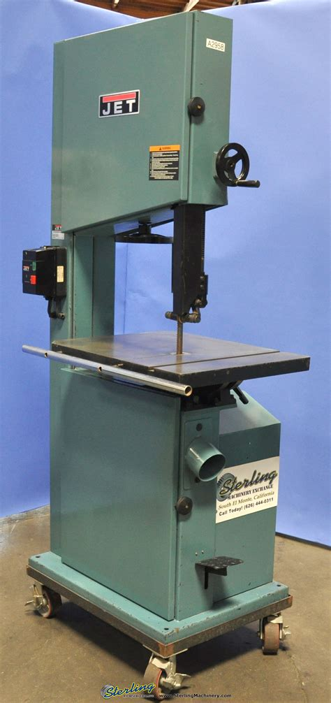 bandsaw woodworking used jet vertical bandsaw woodworking sterling