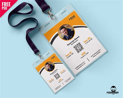 make your own id card for free photo identity card template psd psddaddy