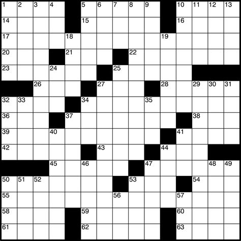 crossword clue crossword