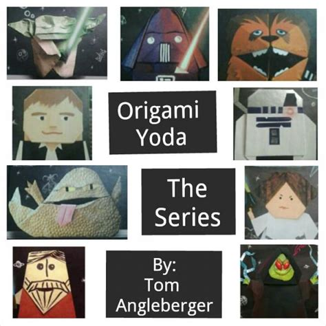 the origami yoda series origami yoda collage origami yoda