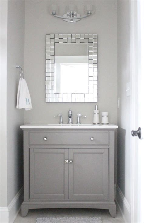 25 best ideas about grey bathroom vanity on
