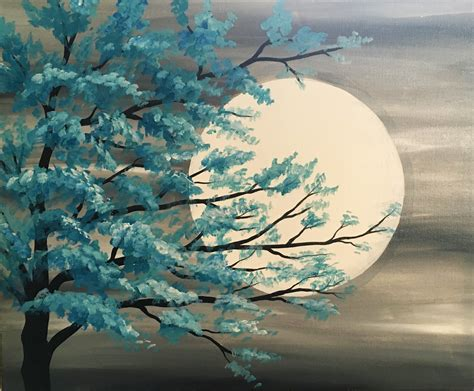 easy acrylic painting ideas trees learn the basic acrylic painting techniques for beginners