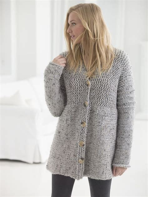 Delicious Knit Cardigan New Free Pattern From Brand